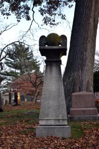 greenwood cemetery gravestone lyon snitch