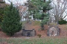 greenwood cemetery hillside graves