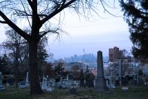 greenwood cemetery skyline