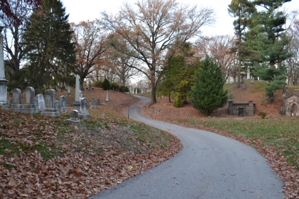 greenwood cemetery winding road