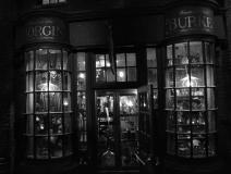 knockturn alley, borgin and burkes